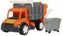 Wader Gigant śmieciarka Oragne/Blue 67016