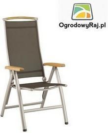 Denver - Fotel aluminiowy - wysoki