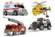 Dickie Małe pojazdy ratunkowe mix Toys