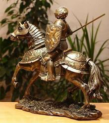 Veronese Rycerz na koniu z kopią