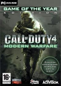 Call of Duty 4: Modern Warfare Game of the Year Edition PC