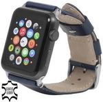 Apple StilGut Pasek do Watch 42 mm. blue