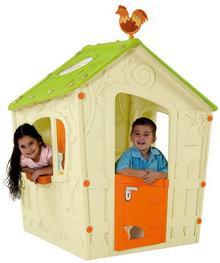 Keter Mały domek dla dzieci  Magic Playhouse kremowy KET17185442KR