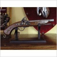 WŁOCHY HISTORYCZNY FRANCUSKI Pistolet skałkowy