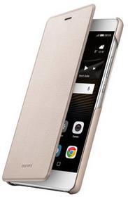 Huawei Etui P9 51991528 Lite Flip Cover Złoty