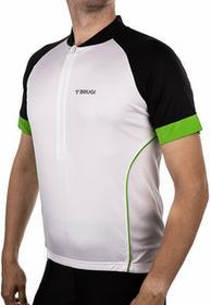 Brugi Koszulka rowerowa męska 4KAK - biały