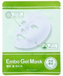 Missha Relaxing Bomb kojąca żelowa maska Embo Gel Mask 30 g
