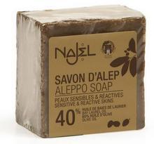 Planeta Organica Rosja Naturalne mydło Aleppo 40% 185g