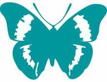 Szabloneria Naklejka fauna 10 - motyl