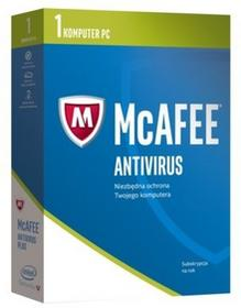 McAfee 2017 AntiVirus Plus 1 PC 1 rok) 2017 AntiVirus Plus 1 PC 1 rok)