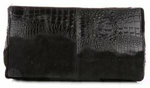 Kristy x Torebka skórzana Kuferek Aligator Czarna (kolory) 1597cz
