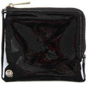 Mi-Pac portfel Coin Holder Patent Black 001) rozmiar OS
