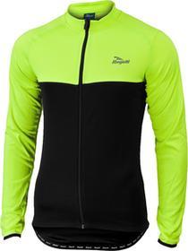 Rogelli CALUSO - lekko ocieplana Bluza rowerowa, kolor: Fluor-czarny