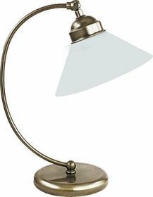 Rabalux klasyczna LAMPA gabinetowa ART DECO MARIAN 2702 IP20 Patyna biały