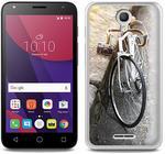 Alcatel Foto Case - Pixi 4 (5) 3G (5010) - etui na telefon Foto Case - hipsterski rower