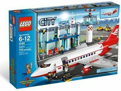 LEGO Lotnisko 3182