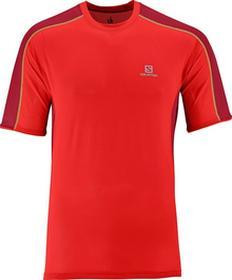 Salomon T-shirt Trail Runner Tee Red 2014