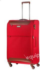 50f2a12f19056 March Walizka duża Flybird - czerwony
