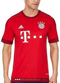 adidas Adidas Koszulka Piłkarska Męska (Replika) Fc Bayern Monachium, Wersja Domowa, Czerwona (True Red/Craft Red F12), S, S14294