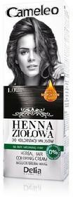 DELIA Delia Cosmetics Cameleo Henna Ziołowa 1.0 czarny