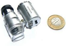 HX Kieszonkowy Mikroskop/Lupa + Diody LED +