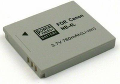 Akumulator Canon NB-4L (Li-Ion 760 mAh) 178073