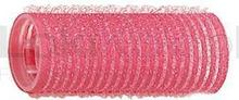 Comair Wałki na rzepy 24 mm różowe