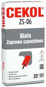 Cekol Zaprawa szpachlowa 25 kg biała