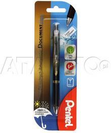 Pentel Pióro kulkowe 0.5mm czarne Energel BLP75 PN6359