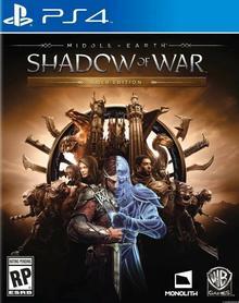 Śródziemie: Cień Wojny Gold Edition PS4