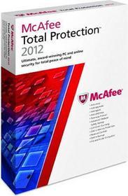 McAfee Total Protection 2012 (1 stan. / 1 rok) - Nowa licencja