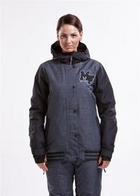 Meatfly XOX A H.Gray/czarny (98) rozmiar: L