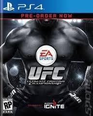 Sports UFC PS4