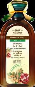 Green Pharmacy Szampon Olej arganowy Granat 350ml