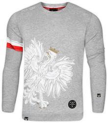 d50069e321db -27% SURGE POLONIA   POLSKA Bluza patriotyczna Surge Orzeł Sport jasny  melanż (B.SUR.