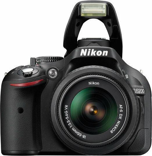 Nikon D5200 + 18-55 VR kit
