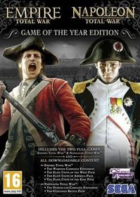 Empire Total War Oraz Napoleon Total War Game Of The Year Edition PC