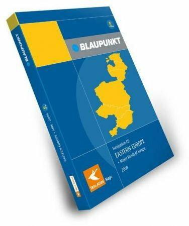 Blaupunkt Tele Atlas E1/E2 Polska + Europa Wschodnia