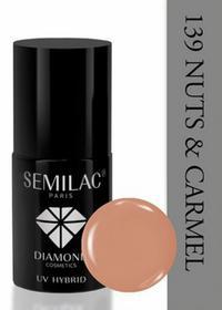Semilac Lakier hybrydowy 139 Nuts&caramel