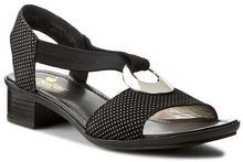 Rieker Sandały 62662-02 Black