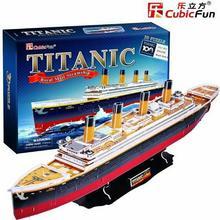 Cubicfun 3D Titanic Duży DA-01565