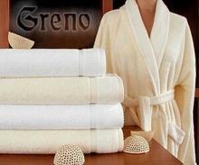 Greno Szlafrok Wellness kremowy - z włóknem bambusowym 3CFD-59843_20121123131303
