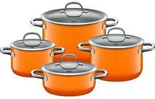 Silit Passion Orange - Zestaw 4 garnków 21.0929.9066