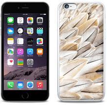 Etuo.pl Foto Case - Apple iPhone 6s Plus - etui na telefon Foto Case - białe pióra ETAP231FOTOFT017000
