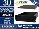Opinie o PULSAR 3U / 405mm - Obudowa do szaf RACK 19 marki W PAKIETACH KUPISZ TANIEJ! ARAD3