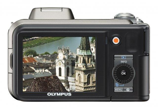 Olympus SP-600 UZ srebrny