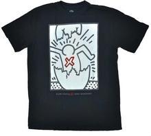 Alien Workshop koszulka - Haring Egg Tarpit Blk (CERNA) rozmiar: M