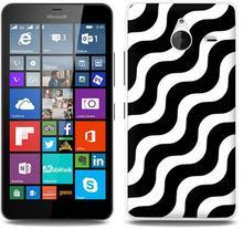 Etuo.pl Fantastic Case - Microsoft Lumia 640 XL - etui na telefon Fantastic Case - biało-czarna fala ETMS183FNTCFC026000