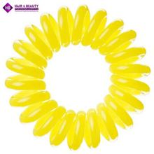 InvisiBobble Submarine Yellow Żóte gumki do wosów 3 pack