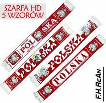 SZARFA KIBICA POLSKI POLSKA HD 5 WZORÓW